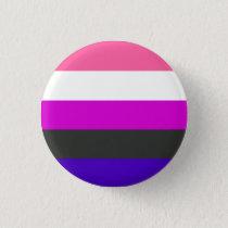 Genderfluid flag button