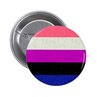 Genderfluid Flag 2 Inch Round Button