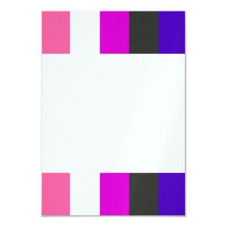 Genderfluid flag card