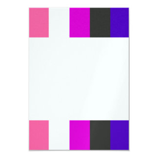 Genderfluid flag personalized invite