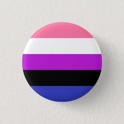 Genderfluid Pride Button