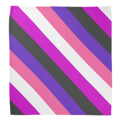Genderfluid Pride Flag Bandana