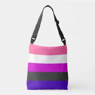 Genderfluid Pride Flag Crossbody Bag