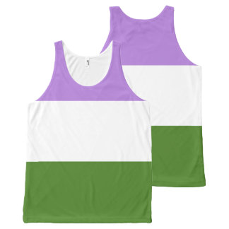 GenderQueer All-Over-Print Tank Top