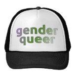 Genderqueer cap trucker hat