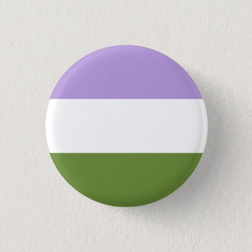 Genderqueer Flag Badge Button