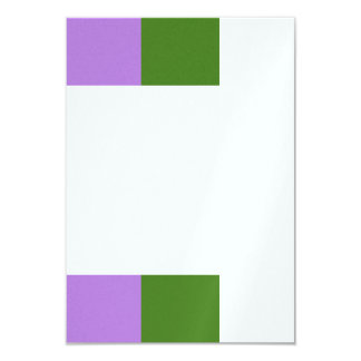 Genderqueer flag card