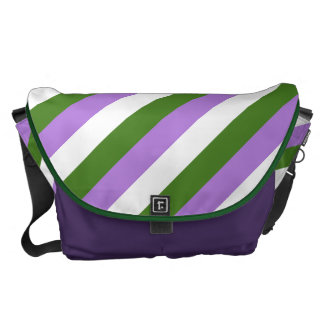 Genderqueer flag courier bag