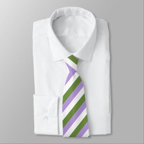 Genderqueer Flag Neck Tie