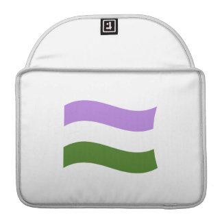 GENDERQUEER FLAG WAVING SLEEVES FOR MacBook PRO