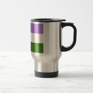 Genderqueer 15 Oz Stainless Steel Travel Mug