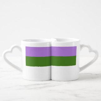 GENDERQUEER PRIDE 2014 PRIDE.png Couples' Coffee Mug Set