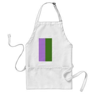 Genderqueer pride flag adult apron