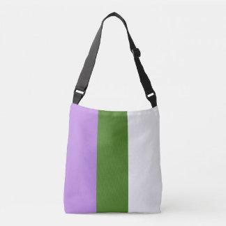 Genderqueer Pride Flag Crossbody Bag
