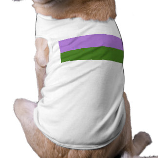 Genderqueer Pride Flag Pet T-shirt