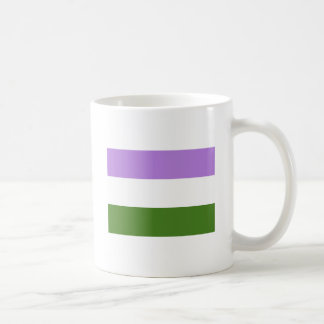 Genderqueer Pride Flag Classic White Coffee Mug