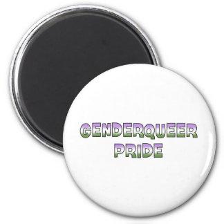 Genderqueer Pride Refrigerator Magnets