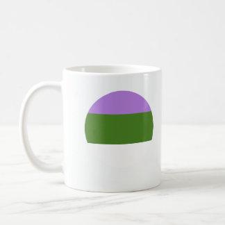 GENDERQUEER PRIDE CLASSIC WHITE COFFEE MUG