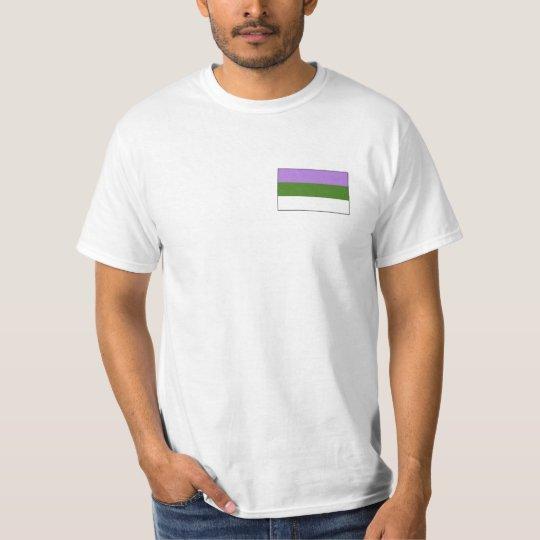 Genderqueer Pride T-shirt
