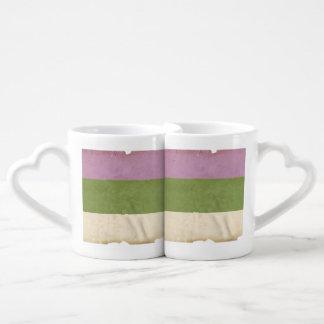 GENDERQUEER PRIDE VINTAGE DESIGN - 2014 PRIDE.png Couples' Coffee Mug Set