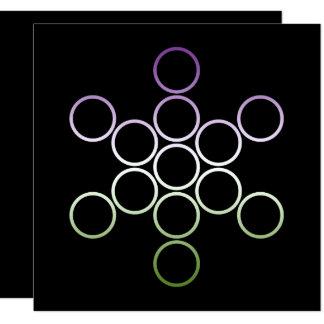 genderQueer sacred circles Card