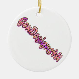 Gendesigns4 u ceramic ornament
