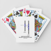 Gene Duplication: Major Factor In Evolution Bicycle Playing Cards