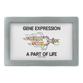 Gene Expression A Part Of Life (DNA Replication) Belt Buckles