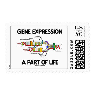 Gene Expression A Part Of Life (DNA Replication) Postage