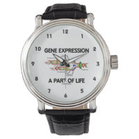 Gene Expression A Part Of Life (DNA Replication) Wrist Watch