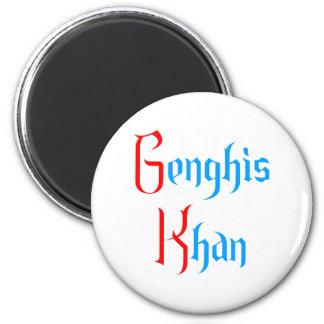 Gene GHI Khan 2 Inch Round Magnet