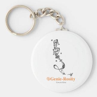 Gene Print Range Keychain