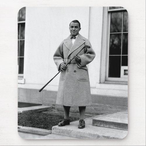 Gene Sarazen, 1920s Mouse Pad