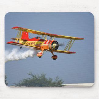 Gene Soucy performing aerobatics in Grumman Mouse Pad