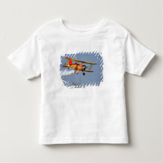 Gene Soucy performing aerobatics in Grumman Toddler T-shirt