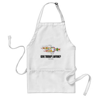 Gene Therapy, Anyone? (DNA Replication) Adult Apron