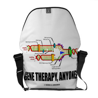 Gene Therapy, Anyone? (DNA Replication) Messenger Bag