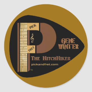 GENE-TRADEMARK-Sticker-Large- Classic Round Sticker