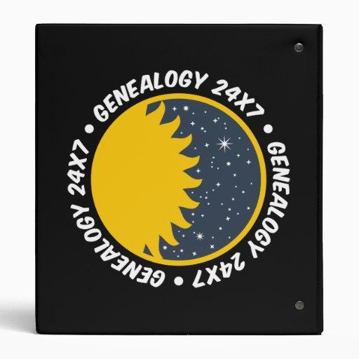 "Genealogía 24x7 carpeta 1"""