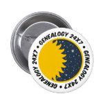 Genealogía 24x7 pins