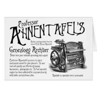 Genealogía Archiver Felicitación