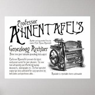 Genealogía Archiver Poster