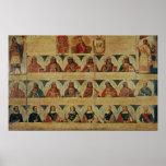Genealogía de los reglas del inca y de su español póster