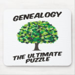 Genealogía - el último rompecabezas alfombrilla de ratón