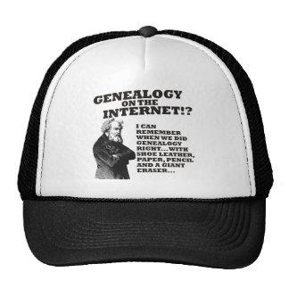 ¿Genealogía en el Internet? Gorras De Camionero