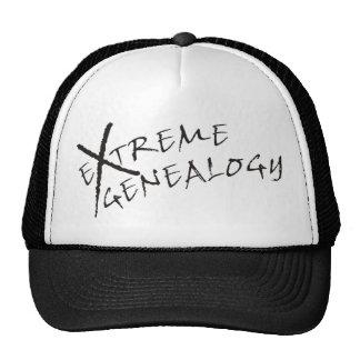 Genealogía extrema gorras
