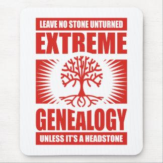 Genealogía extrema - ninguna piedra Unturned Alfombrillas De Raton