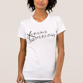 Genealogía extrema t shirts