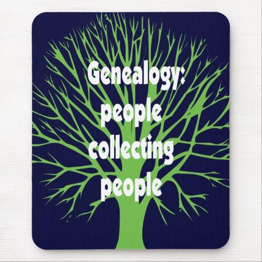 Genealogía: Gente que recoge a gente Alfombrilla De Ratón
