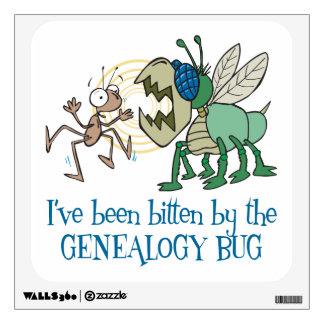 Genealogía - mordida por el insecto de la genealog